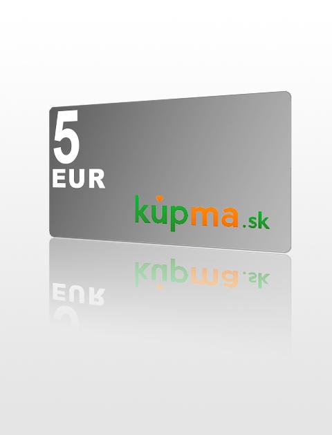 5 EUR poukážka do kupma.sk