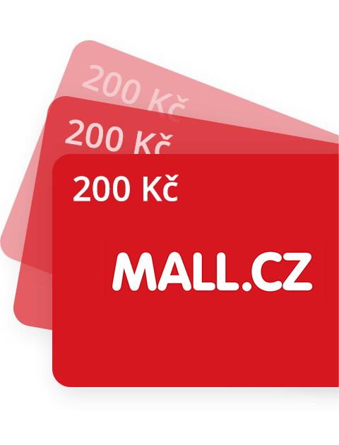200 Kč Poukázka do Mall.cz