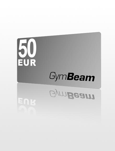50 EUR Poukážka do GymBeam