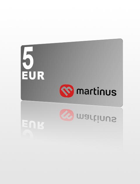 5 EUR poukážka do Martinus
