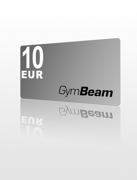 10 EUR Poukážka do GymBeam