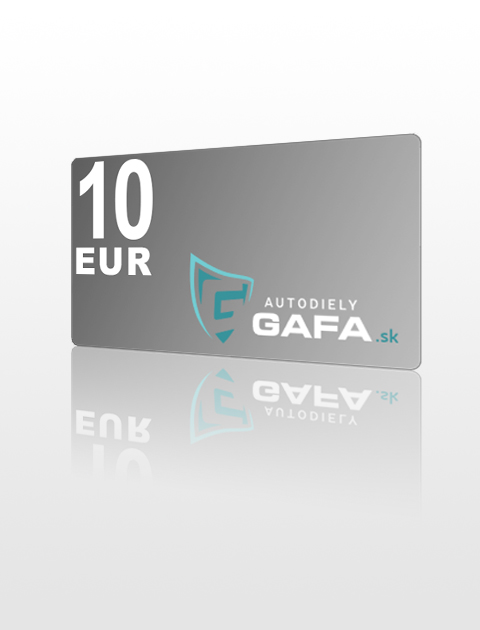 10 EUR Poukážka do Autodiely Gafa