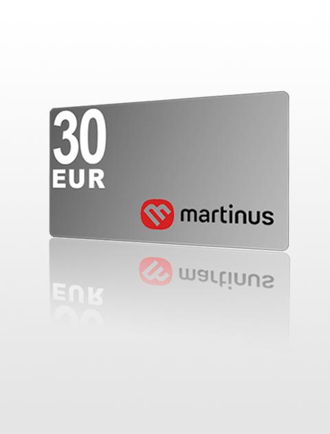 30 EUR poukážka do Martinus