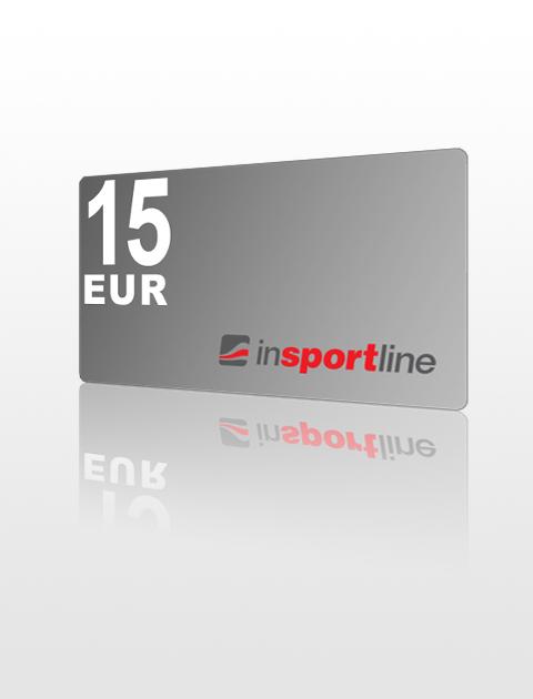 15 EUR Poukážka do inSPORTline