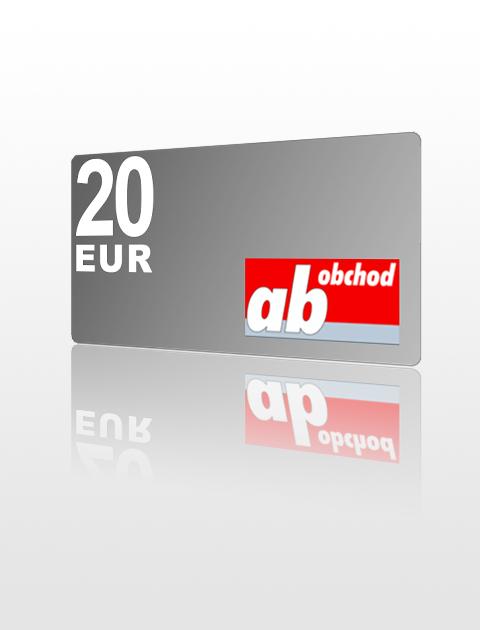 20 EUR poukážka do Ab-obchod