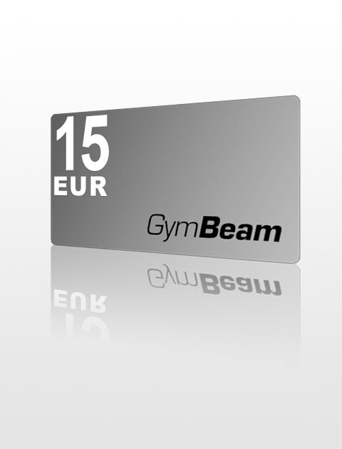 15 EUR Poukážka do GymBeam