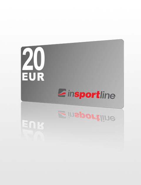 20 EUR Poukážka do inSPORTline