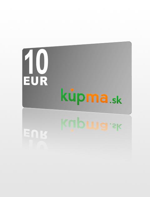 10 EUR poukážka do kupma.sk