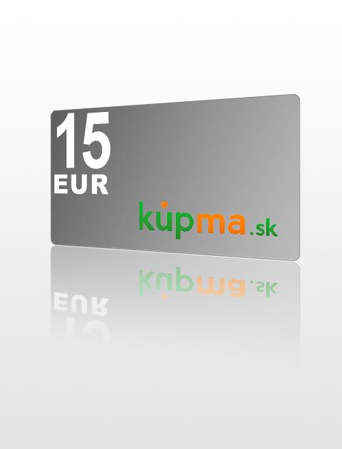 15 EUR poukážka do kupma.sk