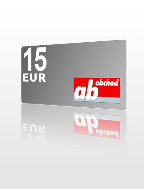 15 EUR poukážka do Ab-obchod