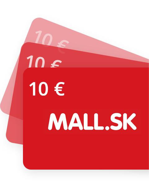 10 EUR Poukážka do Mall.sk