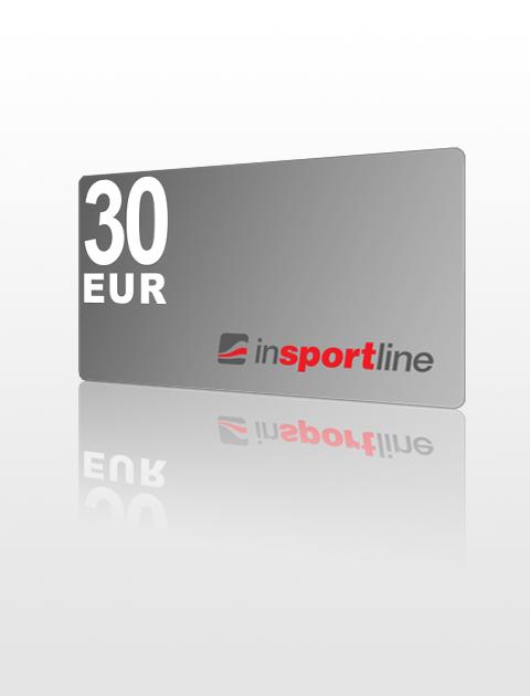 30 EUR Poukážka do inSPORTline