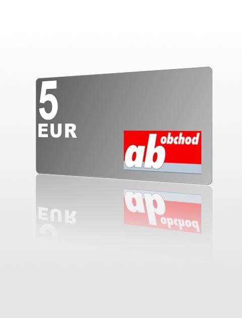5 EUR poukážka do Ab-obchod