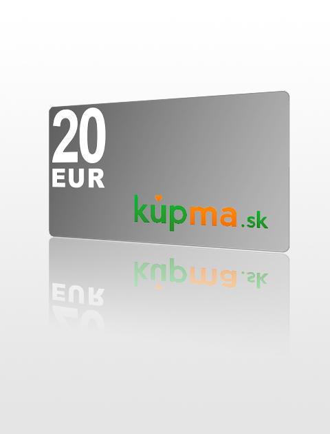 20 EUR poukážka do kupma.sk