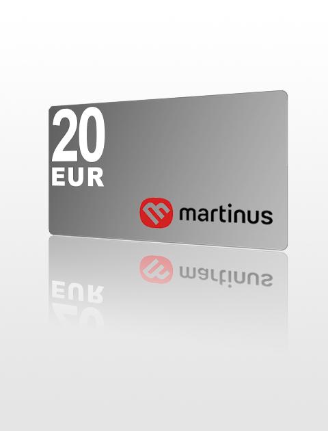 20 EUR poukážka do Martinus