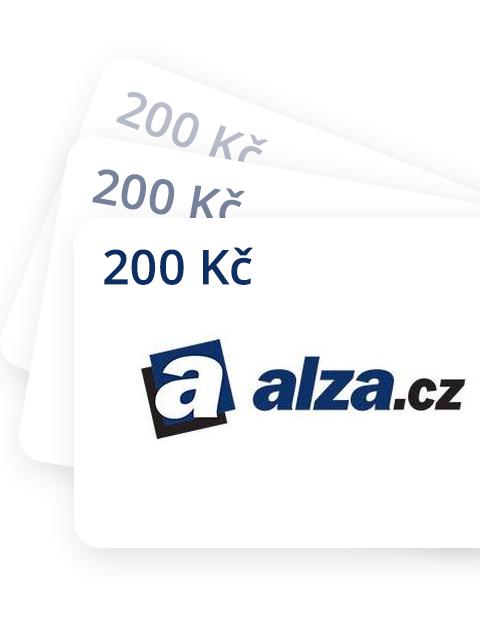 200 Kč Poukázka do Alza.cz
