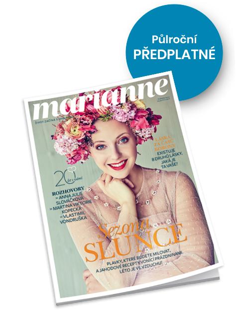 Půlroční předplatné časopisu Marianne